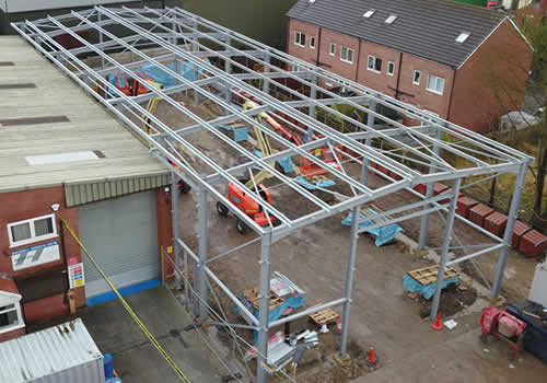 structural engineer industrial units