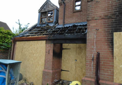 fire damaged house structural survey